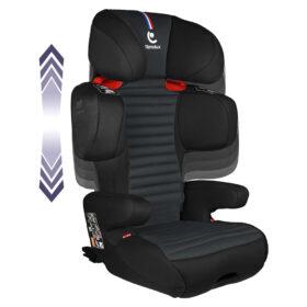 Fotelik samochodowy dla dziecka Renolux Olymp Carbon Czarny możliwości regulacja 15-36kg