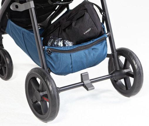 Wózek spacerowy MAST M4 z koszem na zakupy