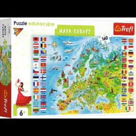trefl mapa europy
