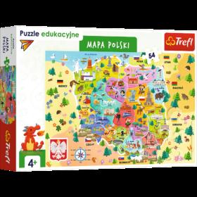 trefl mapa polski