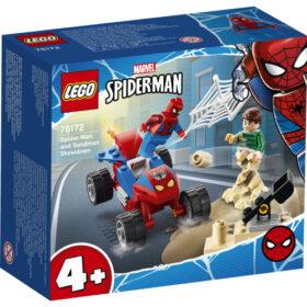 LEGO Spiderman Pojedynek Spider-Mana z Sandmanem