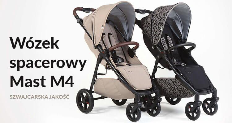 Wózek spacerówka MAST M.4 dostępny, sprzedaż w sklepie