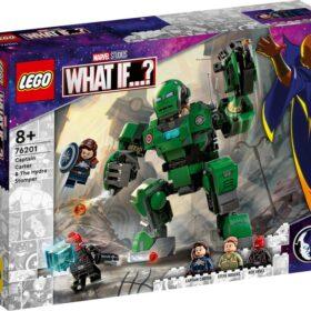LEGO Marvel Kapitan Carter i Niszczyciel Hydry
