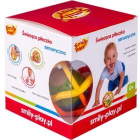 Smily Play Świecąca piłeczka sensoryczna