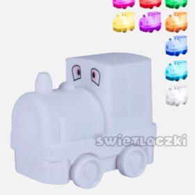 lampka zmieniająca kolor lokomotywa
